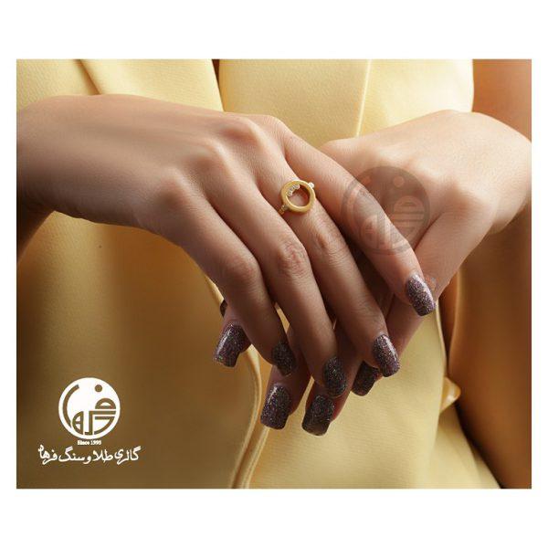 انگشتر طلا طرح آنجل هابل کد R660