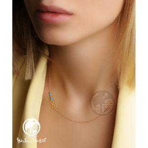 مدل گردنبند طلا طرح بی نهایت