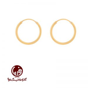 گوشواره طلا حلقه ای ساده