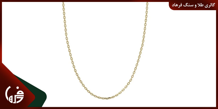 زنجیر طلا کیبل
