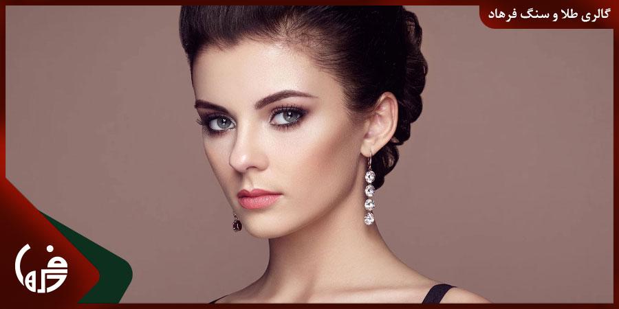 انتخاب مدل گوشواره مناسب برای انواع مدل های مو