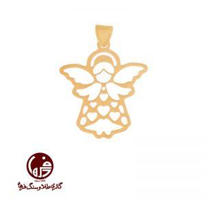 آویز طلا طرح فرشته