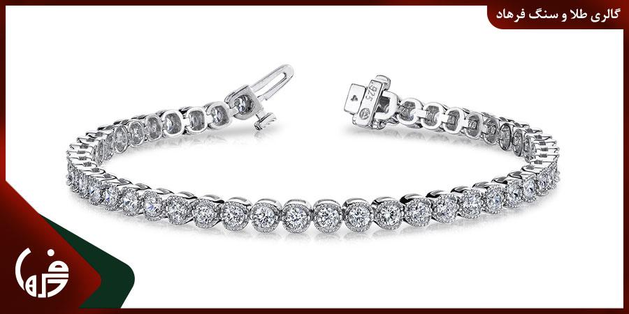 استفاده از الماس در دستبند