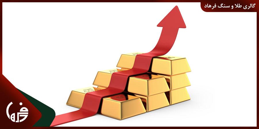 بررسی تاریخچه افزایش قیمت طلا در ایران