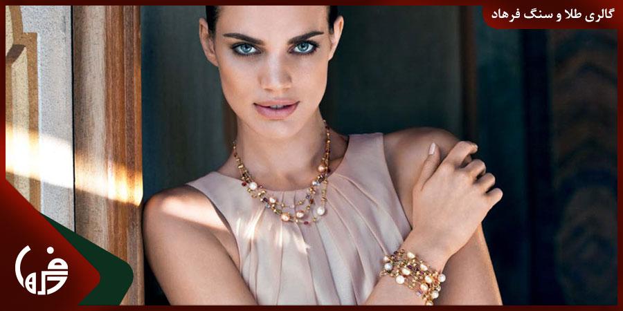 استفاده از جواهرات برای زیباتر شدن