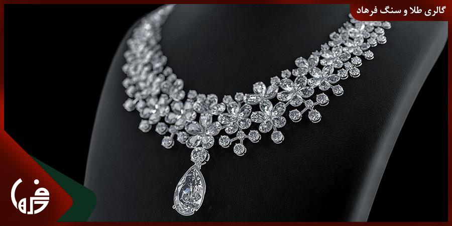 استفاده از جواهرات الماس