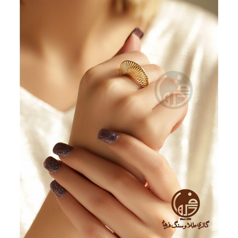 انگشتر طلا طرح آناهیتا کد R680