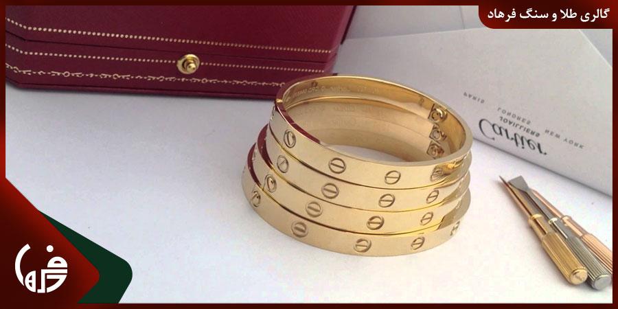 تعیین سایز دستبند النگویی