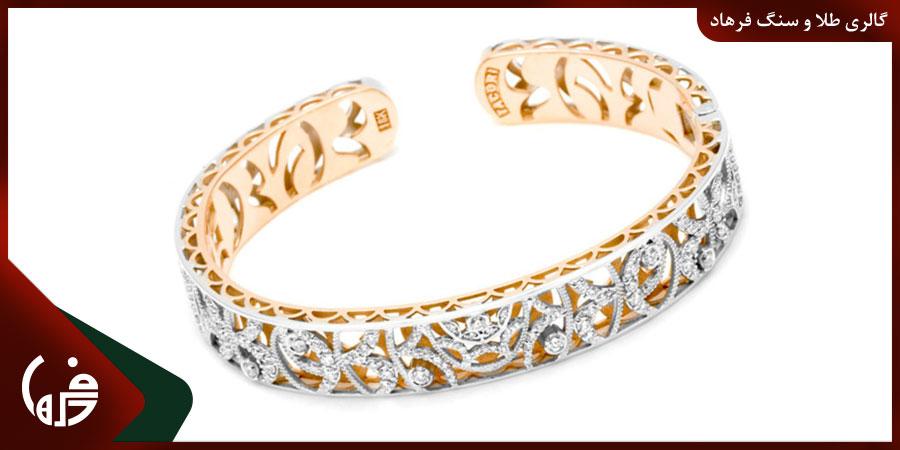 دستبند طلا کاف