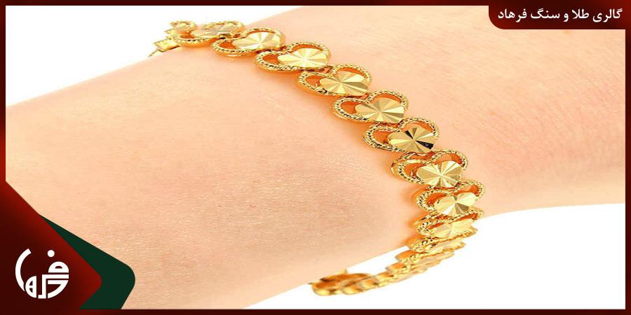 دستبند پیوندی طلا