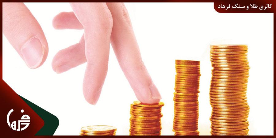 رشد قیمت طلا