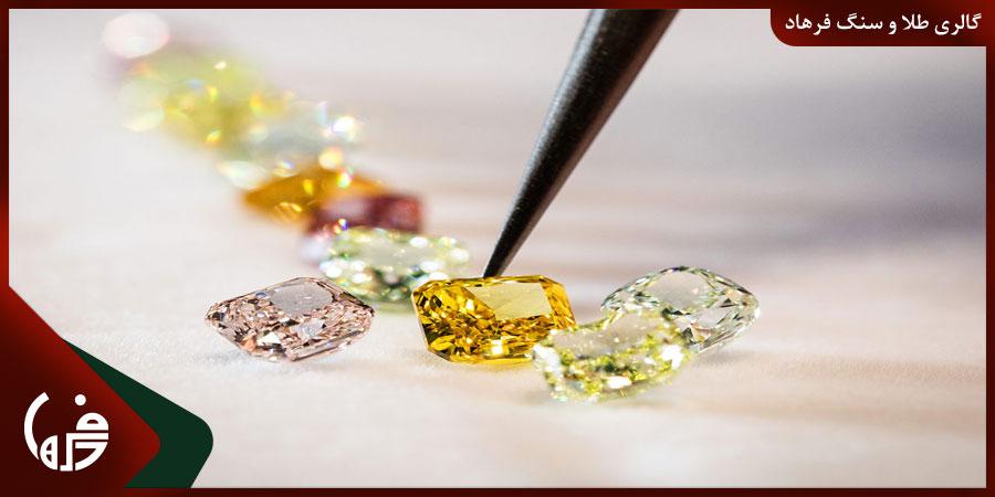 تشخیص اصالت سنگ الماس
