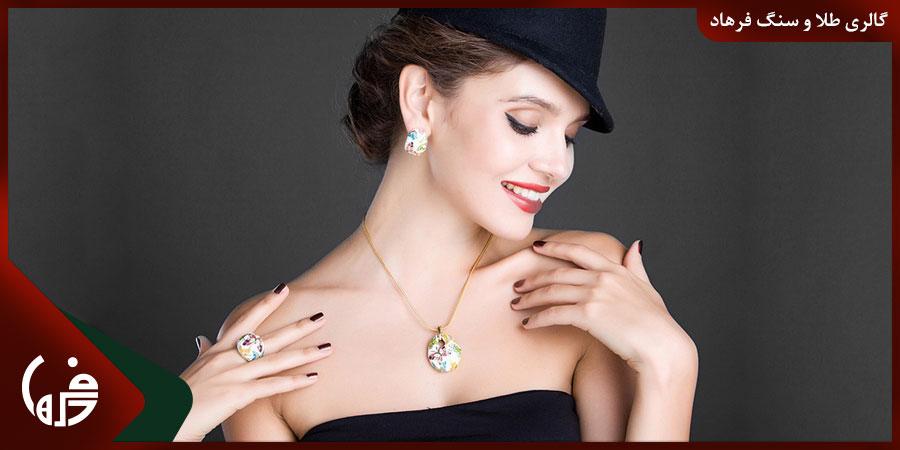 جواهرات مناسب با رنگ پوست