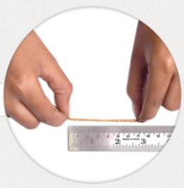 اندازه گیری انگشتر
