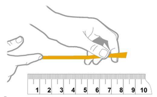 تغیین سایز دستبند